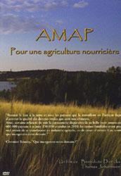 """Couverture du DVD """"AMAP : pour une agriculture nourricière"""""""